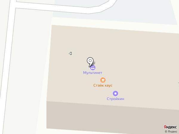 Госсантех на карте Хабаровска