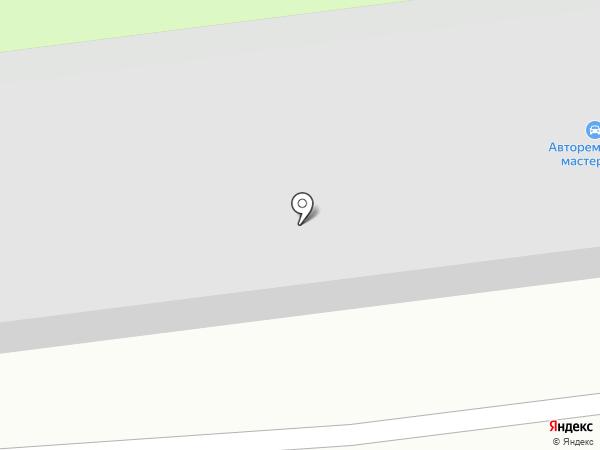 Золотая гаечка на карте Хабаровска