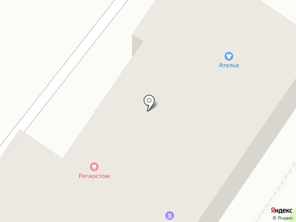 Зефир на карте Хабаровска