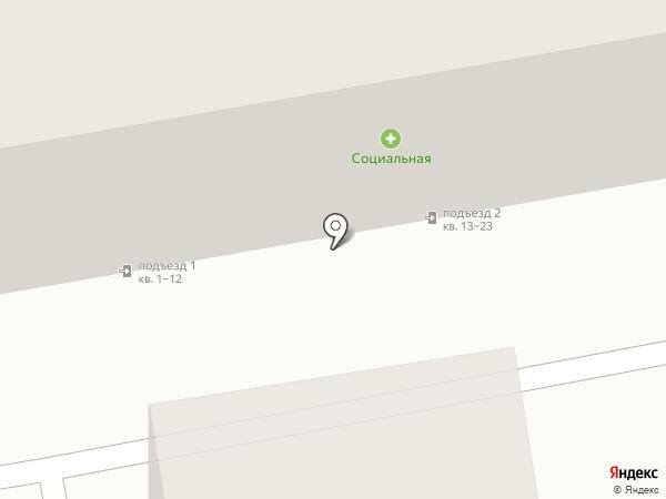 Р-72а, ТСЖ на карте Хабаровска