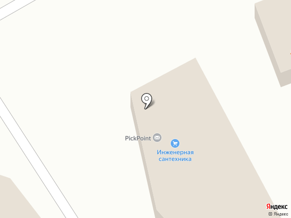 Магазин сантехники на карте Хабаровска