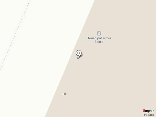 Северное сияние на карте Хабаровска