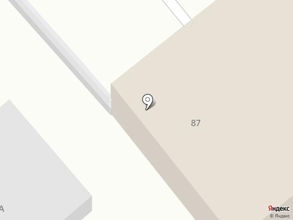 Центр обеспечения регионального контроля на карте Хабаровска
