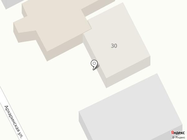 Араз на карте Хабаровска