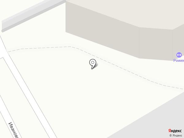 Пауэр на карте Хабаровска