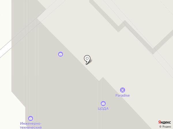 Двоичный Кот на карте Хабаровска
