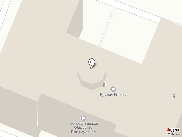 Хабаровское Краевое отделение русского географического общества на карте Хабаровска