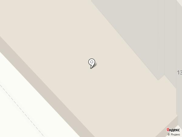 Пинта на карте Хабаровска