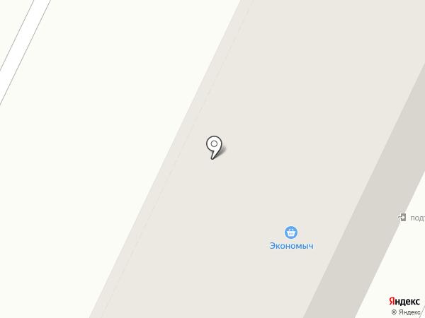 Сентолия на карте Хабаровска