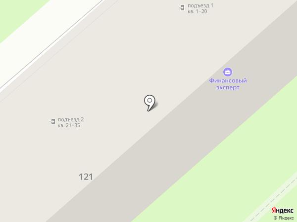 Доходный, КПК на карте Хабаровска