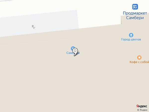 Лейка на карте Хабаровска