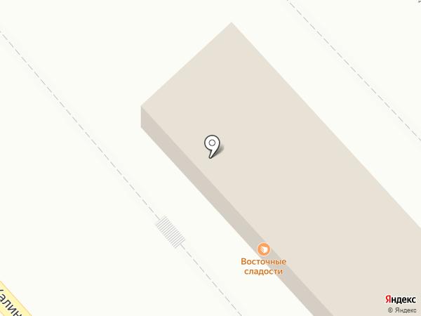Лахмаджун на карте Хабаровска