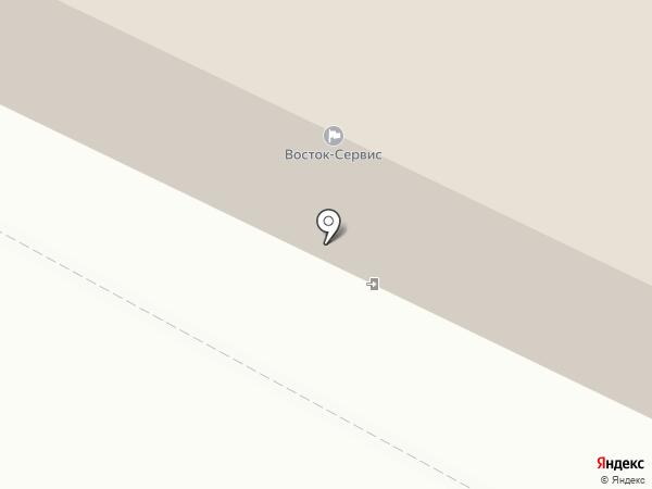СтройДорСервис на карте Хабаровска