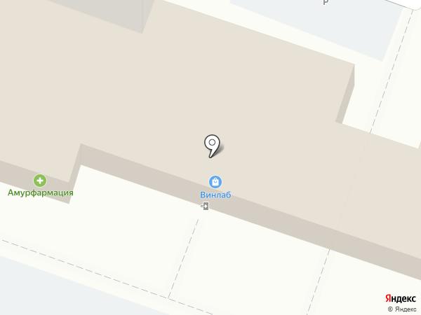 Любимый на карте Хабаровска