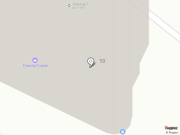 Хотэй на карте Хабаровска