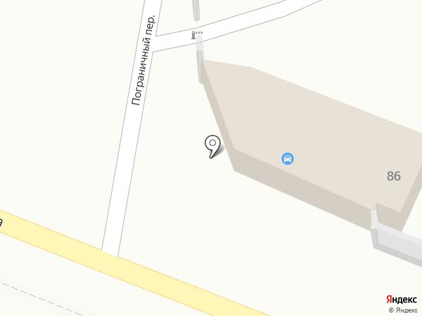 Компания по прокату легковых автомобилей на карте Хабаровска