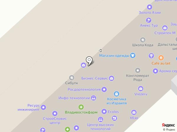 Бухгалтерское и правовое сопровождение бизнеса на карте Хабаровска