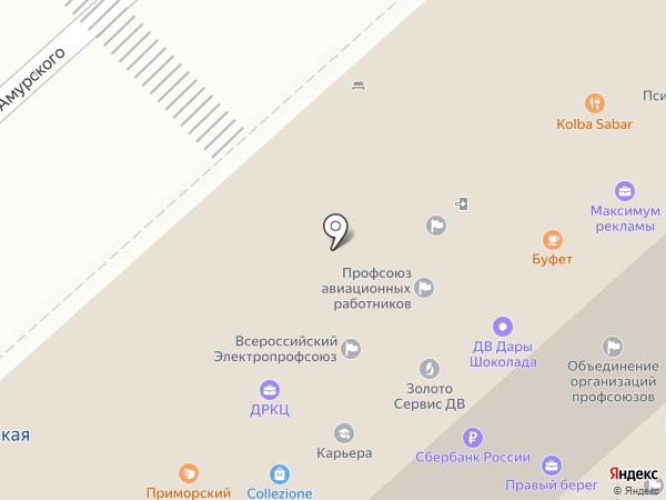 Вся недвижимость Хабаровска на карте Хабаровска