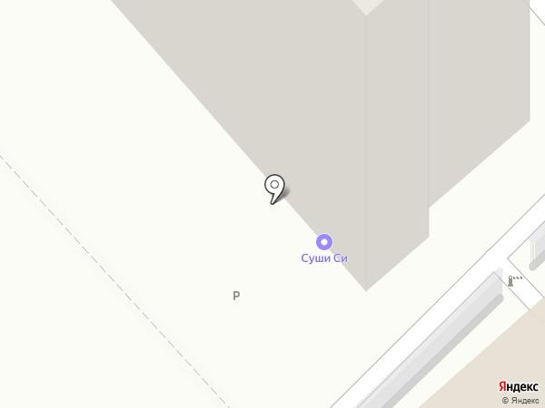 Аптека на Калинина на карте Хабаровска