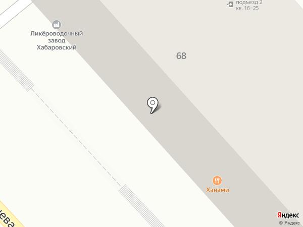 HANAMI на карте Хабаровска