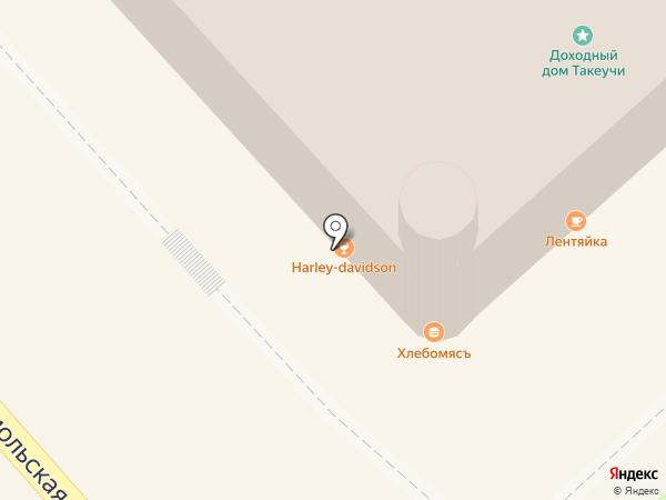 Cabaret Saloon Harley-Davidson на карте Хабаровска