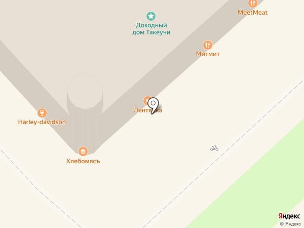 КОНТО на карте Хабаровска