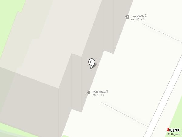 Берег, ТСЖ на карте Хабаровска