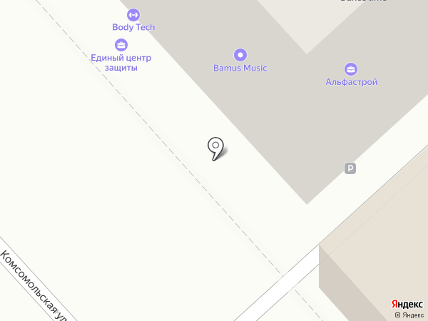 Лисунова, ТСЖ на карте Хабаровска