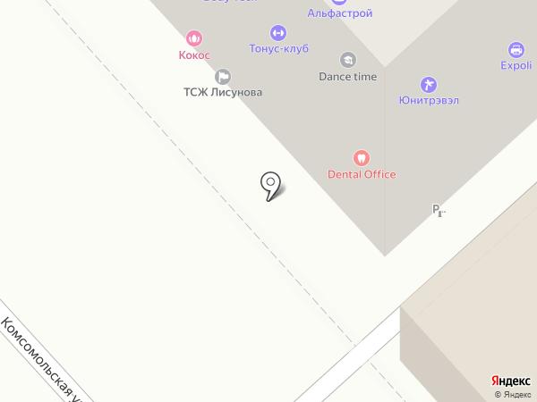 Монте Карло на карте Хабаровска