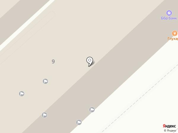 Справедливая Россия на карте Хабаровска
