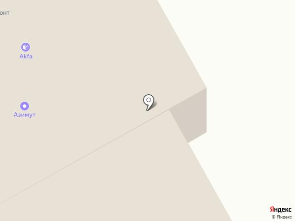 Базис на карте Хабаровска