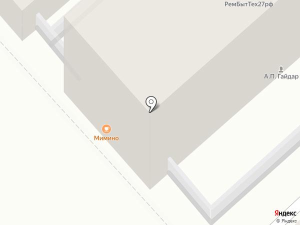 ТифлисЪ на карте Хабаровска