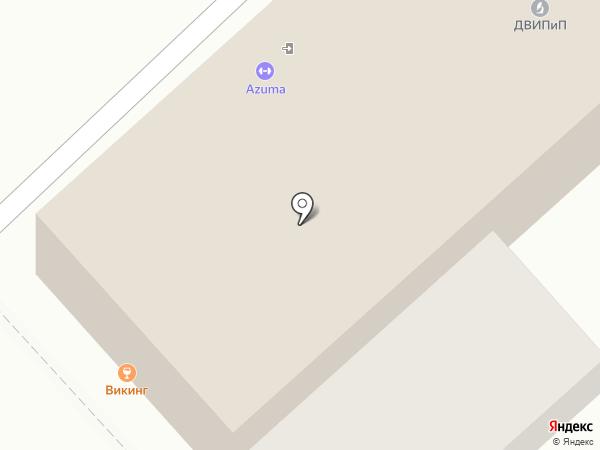 АДВОКАТДВ на карте Хабаровска