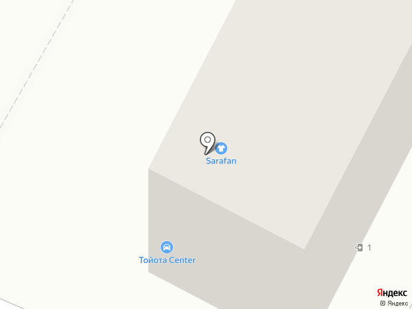 Sarafan на карте Хабаровска