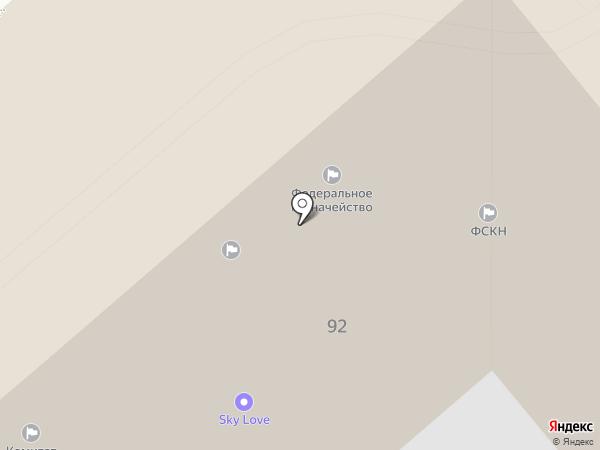 Управление Федерального казначейства по Хабаровскому краю на карте Хабаровска