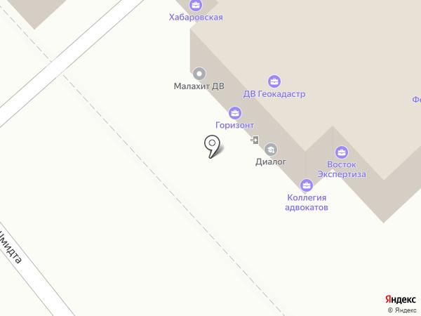 Лимо 27 на карте Хабаровска