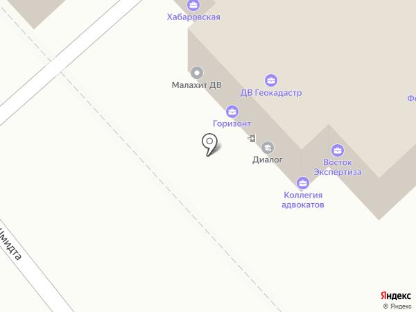 Надежда на карте Хабаровска
