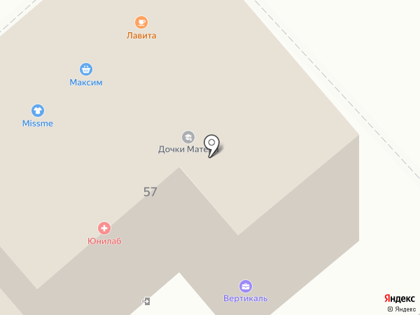 Дочки-матери на карте Хабаровска