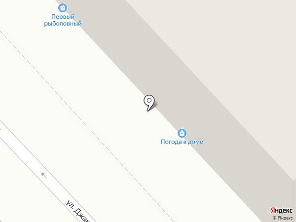 Баракат на карте Хабаровска