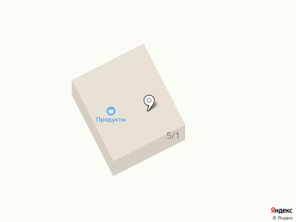 Продовольственный магазин на карте Сосновки