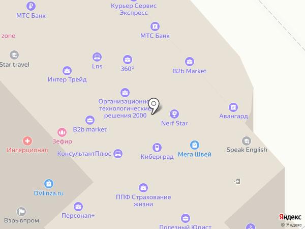 МиксБетон на карте Хабаровска