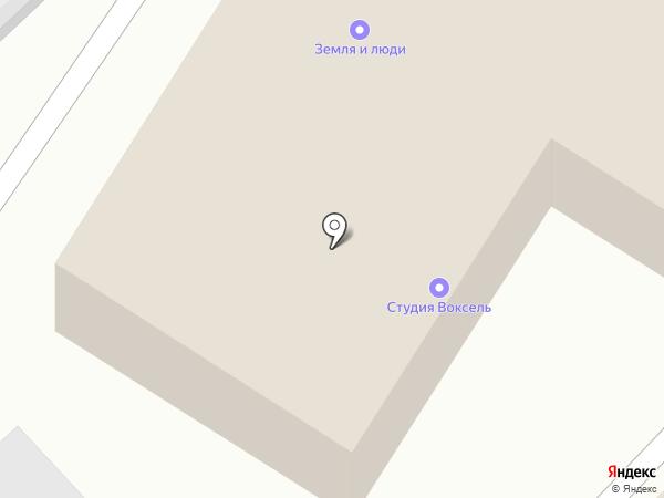 Говорунок на карте Хабаровска