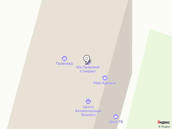 Технология на карте Хабаровска