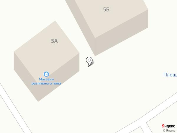 Киоск по продаже хлебобулочных изделий на карте Сосновки