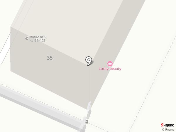 Тесей-ДВ на карте Хабаровска