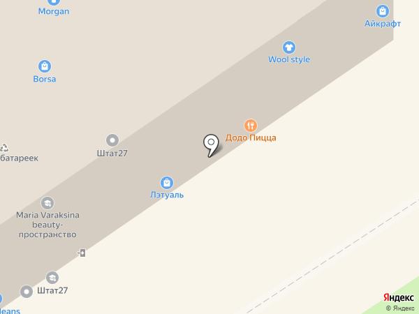 Бизнес-Центр на карте Хабаровска