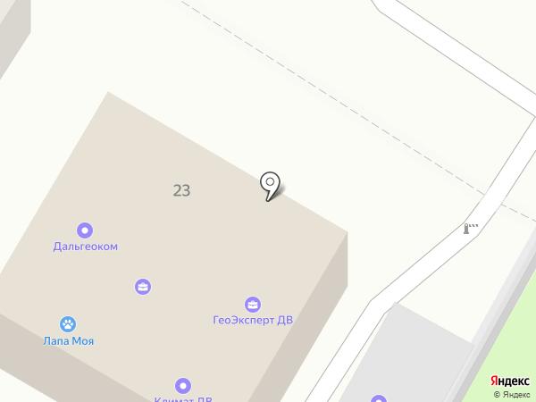 Createk на карте Хабаровска