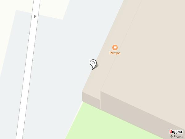 Ретро на карте Хабаровска