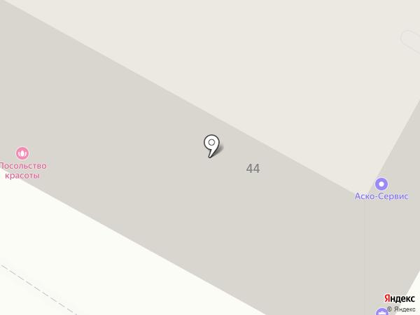 Промет на карте Хабаровска