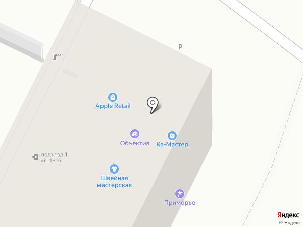 Швейная мастерская на карте Хабаровска